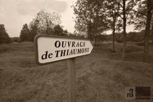 Trichterfeld beim Zwischenwerk Thiaumont.