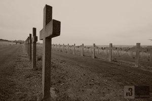 Der Französische Nationalfriedhof am Beinhaus.