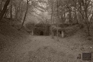 Der Eingang des Fort Souville.