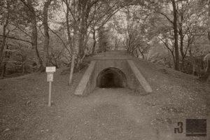 """Die """"Batterie du Tunnel""""."""