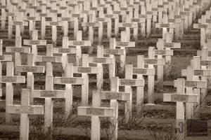 Der Friedhof am Beinhaus.