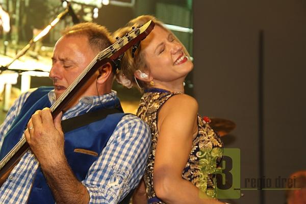 Die Joe Willams Band aus Bayern begeisterten in Merzig mit einer tollen Bühnenshow.