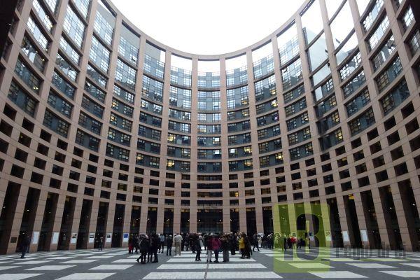 Europäisches Parlament in Straßburg.
