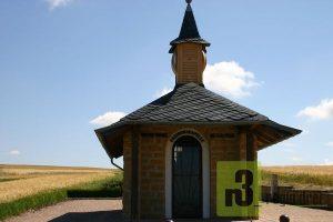 Friedendenskapelle zwischen dem saarländischen Perl und dem französischen Merschweiller