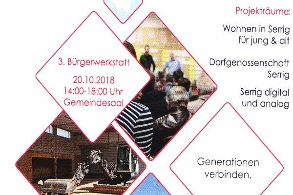 Dorfmoderation in Serrig 2019 - 3. Bürgerwerkstatt 2019