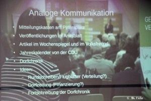 In Serrig ist was los - Bürgerwerkstatt am 20. Oktober.2019.