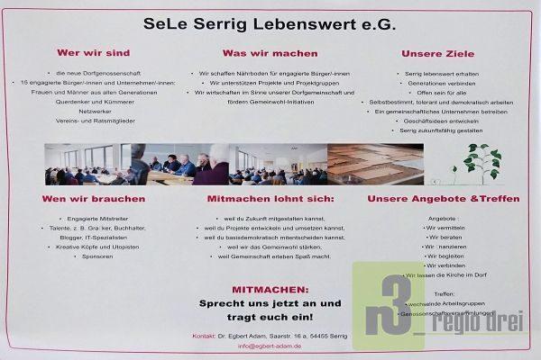 SeLe Serrig Lebenswert eG - 3. Bürgerwerkstatt in Serrig