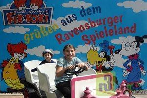 """Ben und Julia aus Trier-Ehrang finden das Ravensburger Spieleland einfach """"Super"""""""