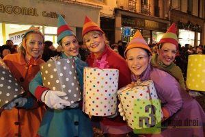 Weihnachtsparade in Thionville.