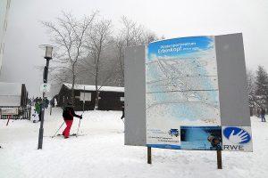 Wintersportzentrum Erbeskopf (818 m).