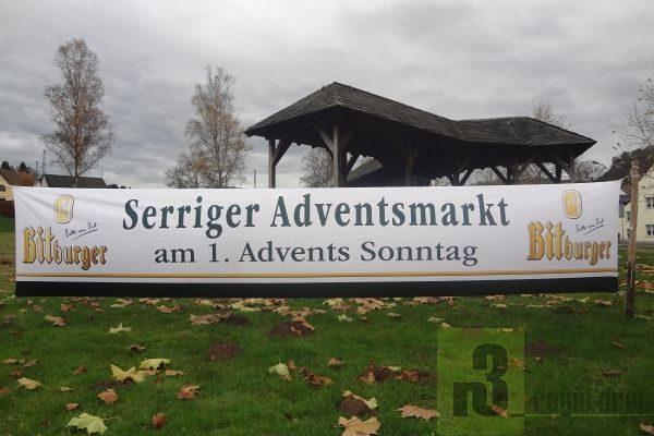 Serriger Advents-Markt 2018 am 2. Dezember auf dem Martinusplatz.
