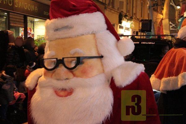 Weihnachtsparade Thionville 2017