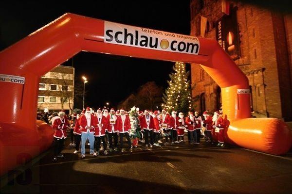 Santa-Lauf in Dilllingen/Saar.