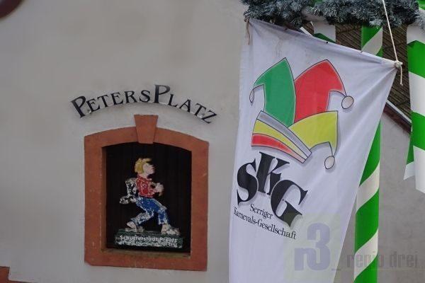 Serriger Karnevalsgesellschaft eröffnet die Session 2018/19 auf dem Pertersplaz.