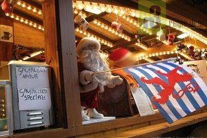 Weihnachtsmarkt in Luxemburg.