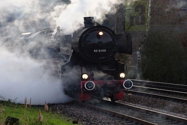 Die Dampflokomotive 52 6106