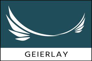 Das Logo der Geierlaybrücke.