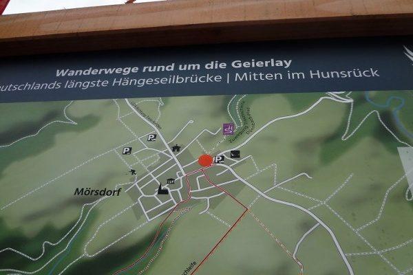 Wandern rund um die Geierlaybrücke bei Mörsdorf.