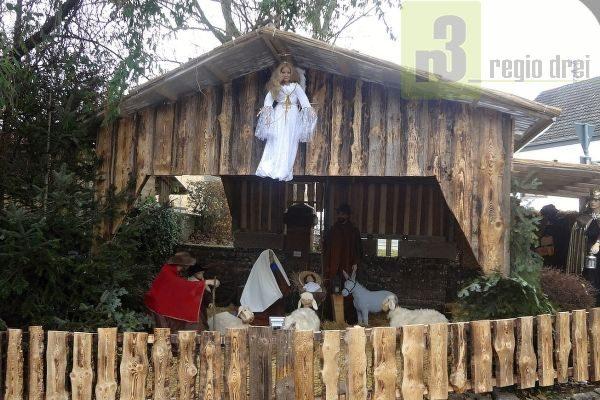 Weihnachtskrippe in Kirf.
