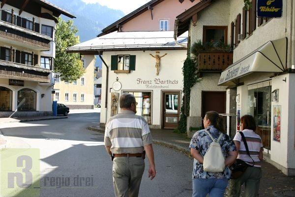 Oberammergau: Ort der Passionsspiele 2020.