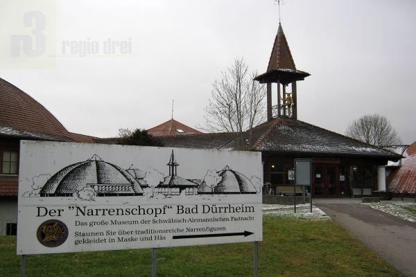 In Bad Dürrheim, liegt das 1973 errichtete Fastnachtsmuseum Narrenschopf.