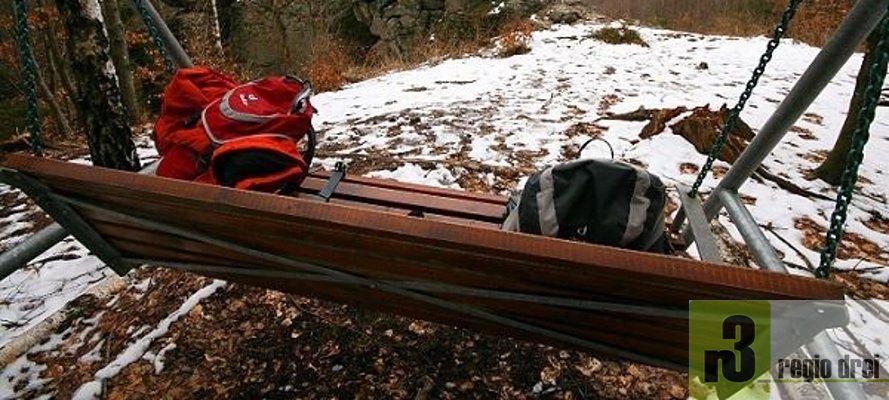 Winterwandern auf dem Saar Hunsrück Steig.