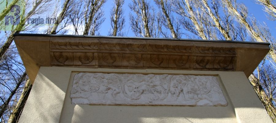 Römisches Grabdenkmal in Remerschen.
