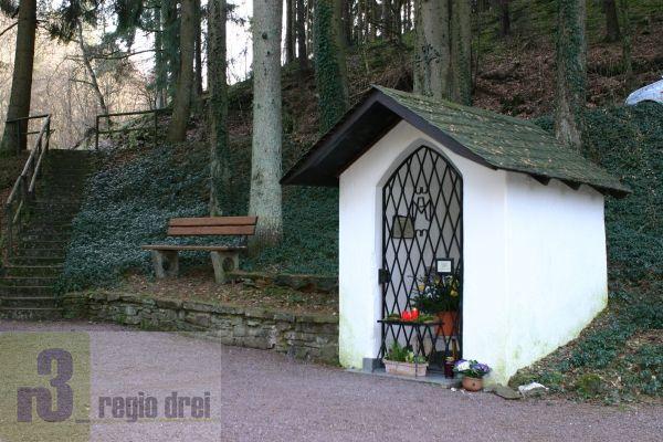 Die Kapelle am Heiligenborn.