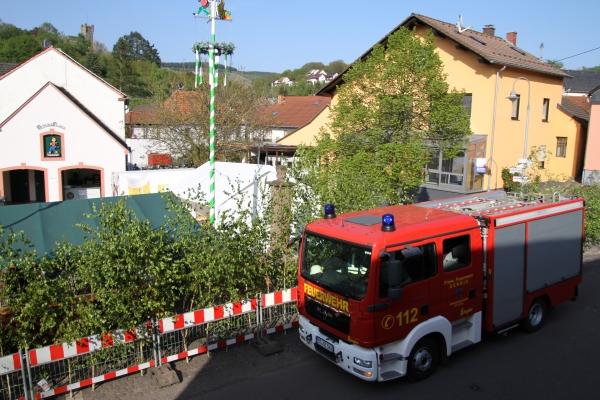 Freiwillige Feuerwehr Serrig: Maibaum 2019