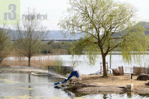 Wasserspaß im Dreiländereck - Haff Réimech .