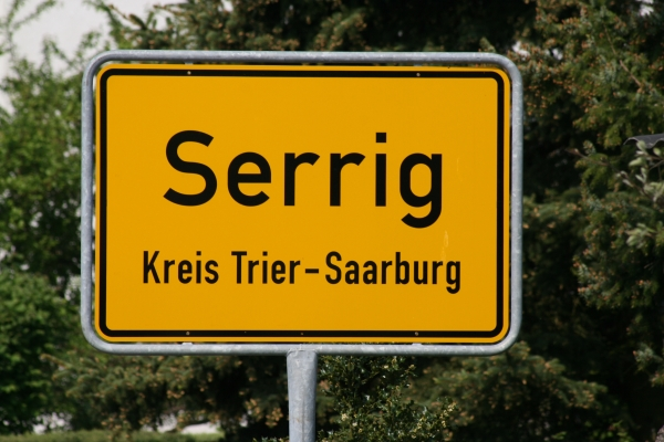 Serrig hat 1657 (Stand 2017) Einwohner und ist ein Ort mit einer moderen Infrastruktur.