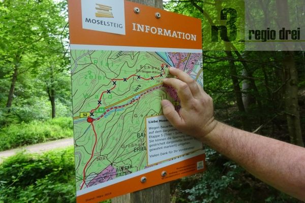 Moselsteig: Tour 5 – Trier – Porta Nigra – Moselbrücke – Biewer – Ehrang – Quint – Schweich (18,1 km)