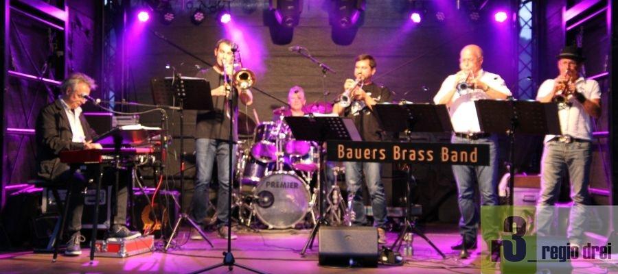 Bauers-Brass-Band beim Serriger Wein- und Heimatfest 2019