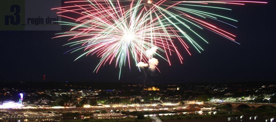 Ein Highlight ist jedes Jahr das Großfeuerwerk beim Zurlaubener Heimatfest. Archiv/Foto: Laura Nikolay