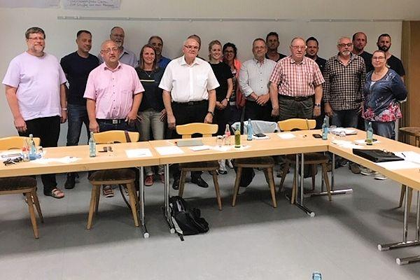 4 Frauen und 14 Männer im Gemeinderat lenken  die Geschicke der Gemeinde Serrig  in den nächsten Jahren.