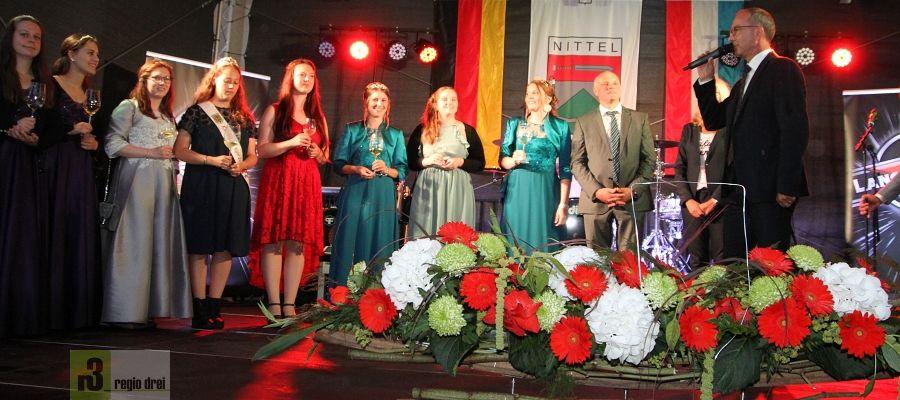 Nittel 2019: Proklamation der 15. Saar-Obermosel-Weinkönigin in Nittel