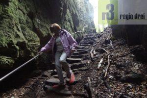 Wandern: Teufelsschlucht und Irreler Stromschnellen.