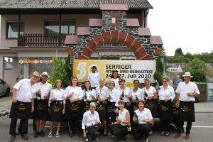 Saarweinfest Saarburg 2019