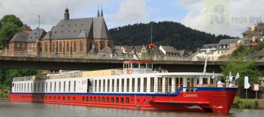 "Die MS ""Casanova"" in Saarburg"