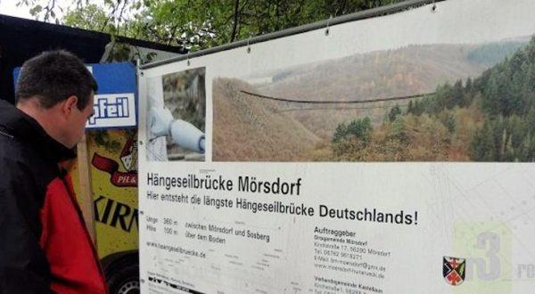 Hängeseilbrücke Mörsdorf im Hunsrück