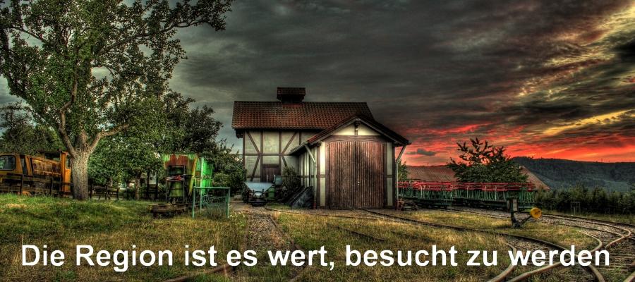 Historische Weinbergsbahn - Hofgut Serrig