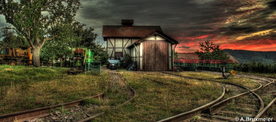 Historische Feldbahn - Hofgut Serrig