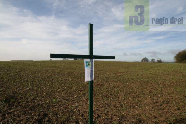 Grünes Kreuz auf dem Saargau: Stiller Widerstand der Landwirte gegen die Agrarpolitik der Bundesregierung.