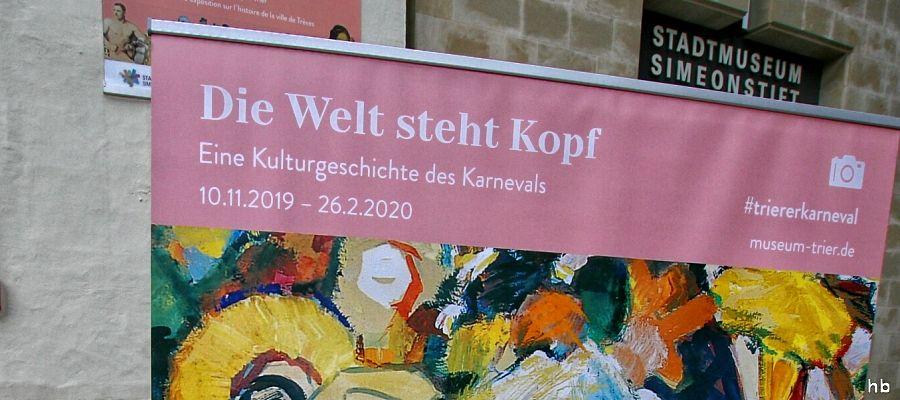 Ausstellung in Trier - Welt steht Kopf