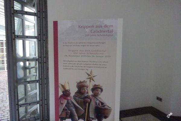 Das Museum am Dom Trier zeigt in einer Krippenausstellung noch bis zum 26. Januar 2020  Krippenschnitzkunst aus Südtirol.