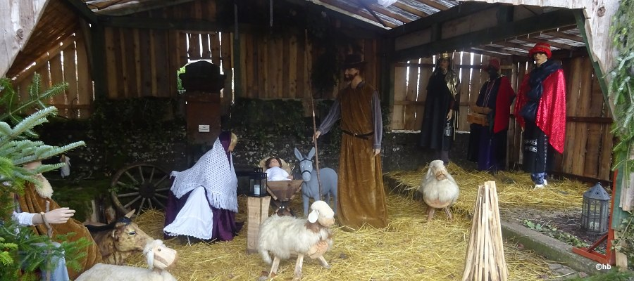Weihnachtskrippe in Kirf