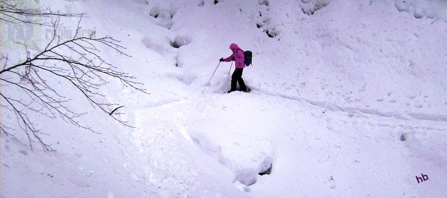Fahr mal dort hin: Schneeschuhwandern im Bregenzerwald