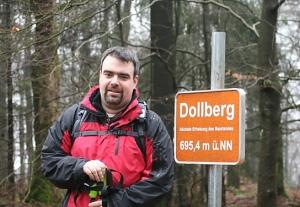 Dirk Martini erwanderte für uns die Strecke von Hermeskeil über den Dolberg nach Muhl.