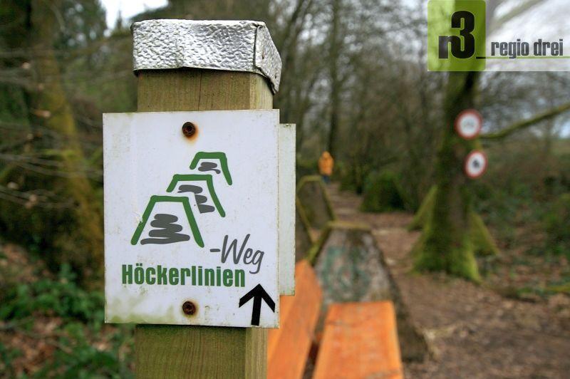 Der Höckerlinienweg bei Orscholz
