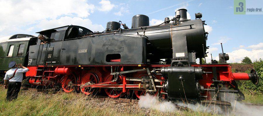 Losheim am See, Museumseisenbahn